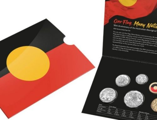 Commemorative coin raises Aboriginal flag copyright debate