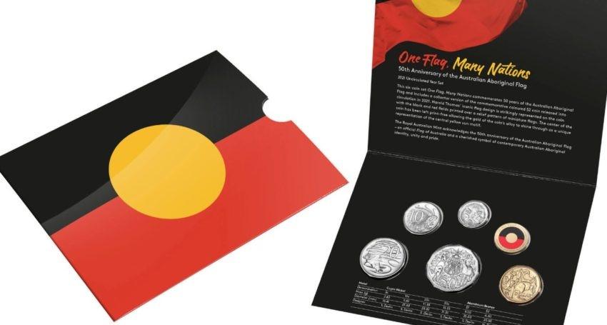 Commemorative coin raises Aboriginal flag copyright debate